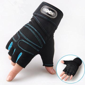 Unisex Bike Sports Gloves Breathable Half Finger Gloves