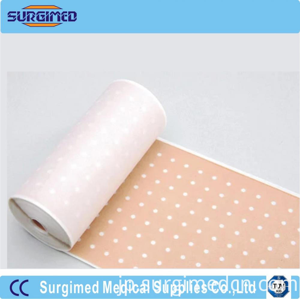 Medical Zinc Oxide Perforated Plaster Roll