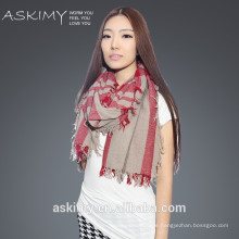 100% wool 2015 fashion wool shawl