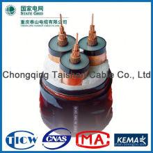 Fabrik Großhandel 15kv 3x240mm DC-Solarkabel
