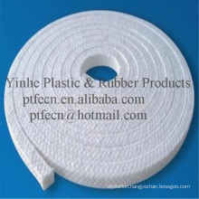 100% Virgin Square PTFE Braided Packing Without Oil