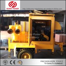 Unité de pompe à eau de 5 à 8 pouces avec moteur diesel pour irrigation agricole