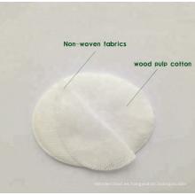 Almohadilla ocular de tela no tejida de algodón 100% súper absorbente