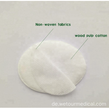 Super Absorbent Eye Pad aus 100% Baumwolle aus Vlies