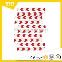 5 pares de setas padrão adesivo carro reflexivo adesivo adornam vermelho branco