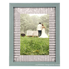 Amazon hot selling high quality 6*8 classics rutisc shadow box display wedding picture frame for couple life with decoratio