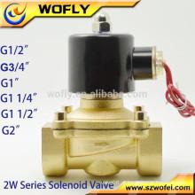 Válvula solenóide normalmente fechada 5V DC