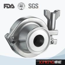 Сальниковый обратный клапан из нержавеющей стали (JN-NRV2002)