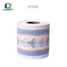 Película alta respirável do PE da taxa do encolhimento do filme plástico