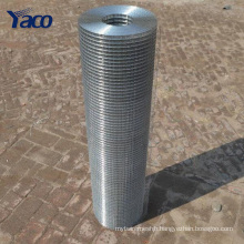 """Hengshui 1/4"""" 1/2"""" 3/4"""" 1"""" 2"""" 5/8"""" 3/8"""" hole galvanized Brc stucco welded wire mesh roll"""