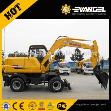 Wheel Type 7 Ton Hydraulic Wheel Excavator WYL75