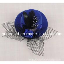 Chapéu preto do animal de estimação da pena Chapéu reticular do animal de estimação, produto do animal de estimação
