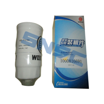 Weichai WD615 Engine Parts 1000816691 Filter Oli SNSC
