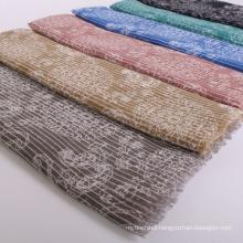 Wholesale Dubai muslim hijab scarf cotton voile fabric scarf digital print scarf women hijab