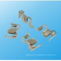 Präzisions-Metall vernickelt Elektrischer Kontakt und Messing Schienenkontakt (HS-BC-010)