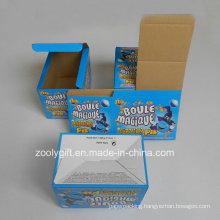 Custom Printing Corrugated Paper Foldable Packing Box E-Flute Corrugated Box