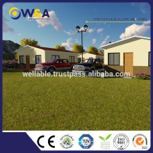 (WAS1013-36D) Maisons préfabriquées préfabriquées en Chine / Maison moderne préfabriquée