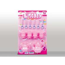 Brinquedo de chá de plástico linda favorita das meninas definir para crianças (10214270)