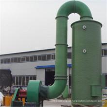 cloro enxofre dióxido de enxofre emergência lavador