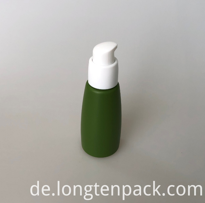 LTP8026 PETG cone bottle with lotion pump