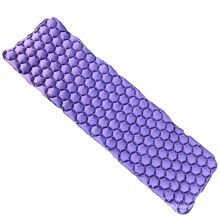 Hot selling Colorful Folding Lightweight Nylon Camping TPU Coated Mattress Inflatable Sleeping Outdoor Mat