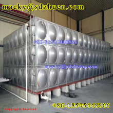 10000l stainless steel panel sectional water storage tank for drinking water