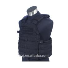 Chaleco militar táctico de la armadura de la armadura a prueba de balas del combate de Paintball del engranaje negro de Molle