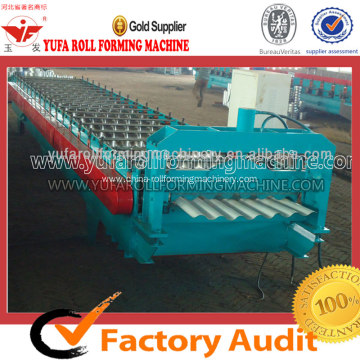 Corrugated Sheet Forming Machine Making Wave Shape Profiles