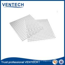 Noyau en aluminium Eggcrate de feuille de grille Eggcrate de ventilation de systèmes de CVC