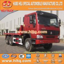 SINOTRUK 6x4 22tons platform truck 336hp diesel engine