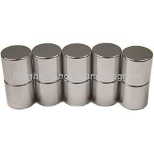 Цилиндрические магниты с никелевым покрытием