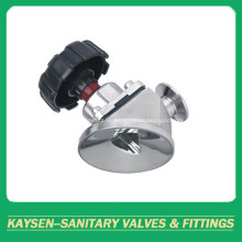 Válvula de diafragma inferior do tanque sanitário DIN