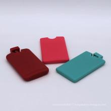 custom design plastic 45ml credit card spray bottle for perfume