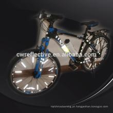 brilham no escuro Acessórios de raios refletivos de bicicleta