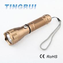 Heißer Verkaufs-nachladbare Aluminiumdimmable führte Taschenlampe
