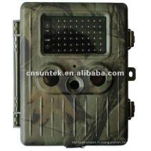 Caméra de chasse au cerf rechargeable