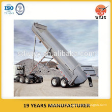 telescopic hydraulic cylinder for large ton dump truck
