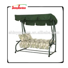 Outdoor Garden 3 Seater Cushioned Swing Chair for Adults