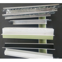 t grid/t-bar suspended ceiling for Gypsum board/Wide band groove /FUT