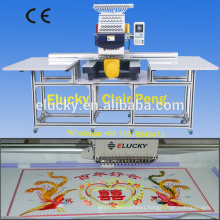 Big embroidery area single head computerized embroidery machines