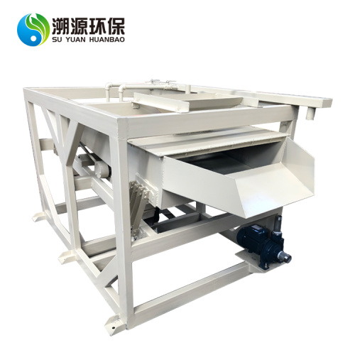 Wet water copper cable granulator