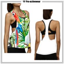 Atacado Private Label Ginásio Vestuário Tank Top Mulheres Gym Wear