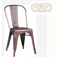 buena calidad precio al por mayor metal estable restaurante / cafetería / loft silla