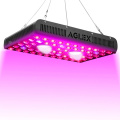 1200W BLOOM LED Grow Light para malezas médicas