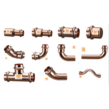 Presse raccords en cuivre pour installations d'eau potable