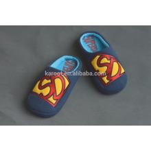 winter super warm blue man indoor outdoor slipper