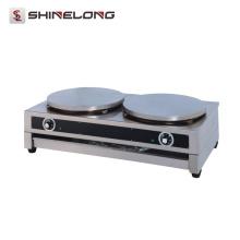 Qualität 400mm Heizplatte Industrielle Doppel Elektrische Crepe Maker Maschine