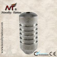 N304013-22mm Aço Inoxidável Self Locking Tattoo Machine Grip Tube