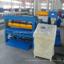 Ce-Stahl-Schnitt-zu-Länge-Maschine