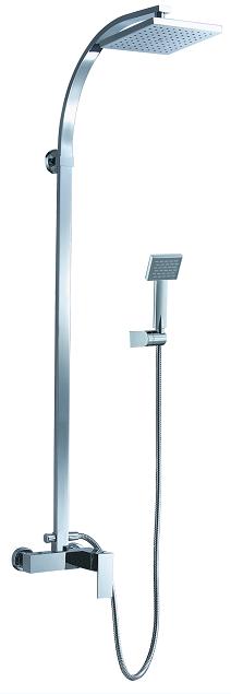 Traditional Brass Body Rain Shower Set Faucet